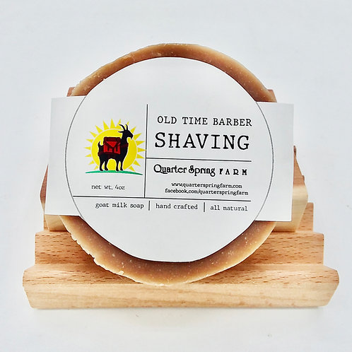 Old Time Barber Shave Bar