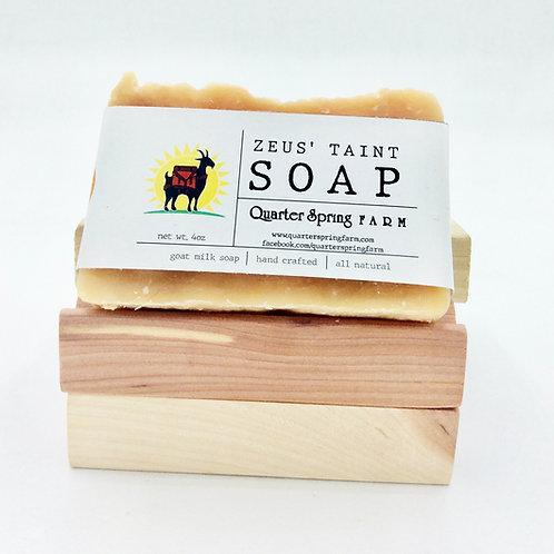Zeus' Taint soap bar
