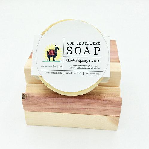 CBD Jewelweed Soap