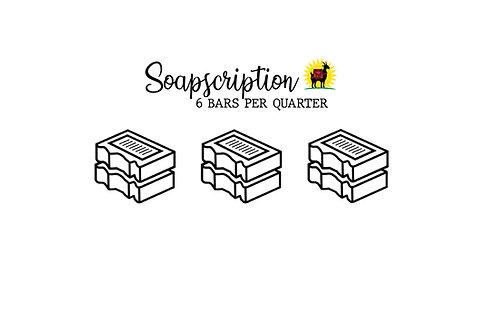 Soapscriptions: 6 bars/quarter