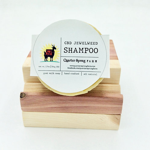 CBD Jewelweed Shampoo