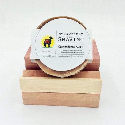 Strawberry Shaving Bar
