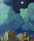Meheski. Moon People, Nicolas Roerich