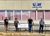 USW Local 2251 membership purchase cardiac equipment