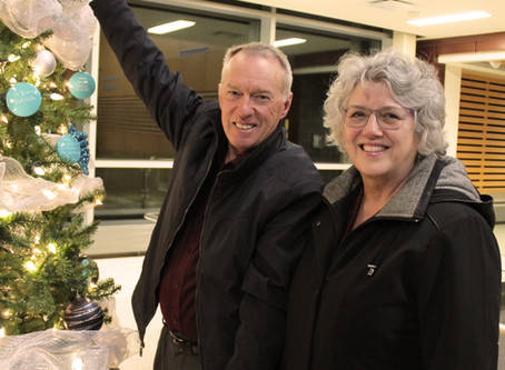 Lighting up the Tree of Hope