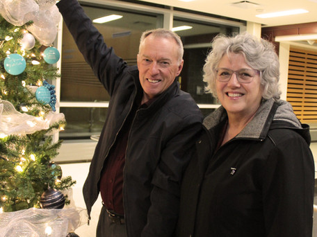 Lighting up the Tree of Hope