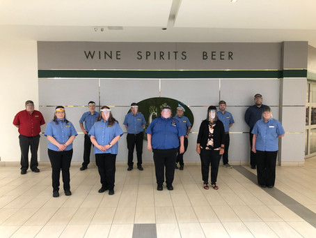 Station Mall LCBO group win over $100,000
