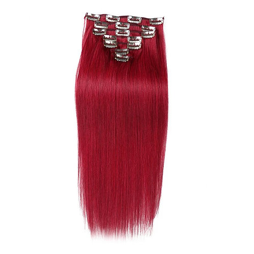 CLIP IN EXTENSIONS CUSTOM COLOR