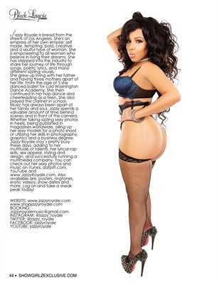 SHOW magazine Black Lingerie #29