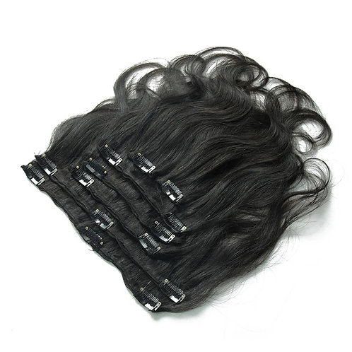 CLIP IN EXTENSIONS NATURAL COLOR