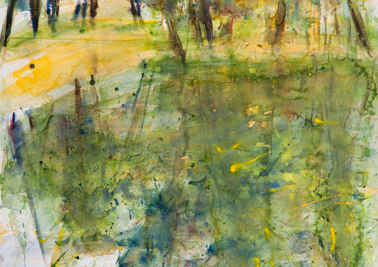 Reflets jaunes