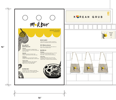 mokbar re-branding by jean pyo