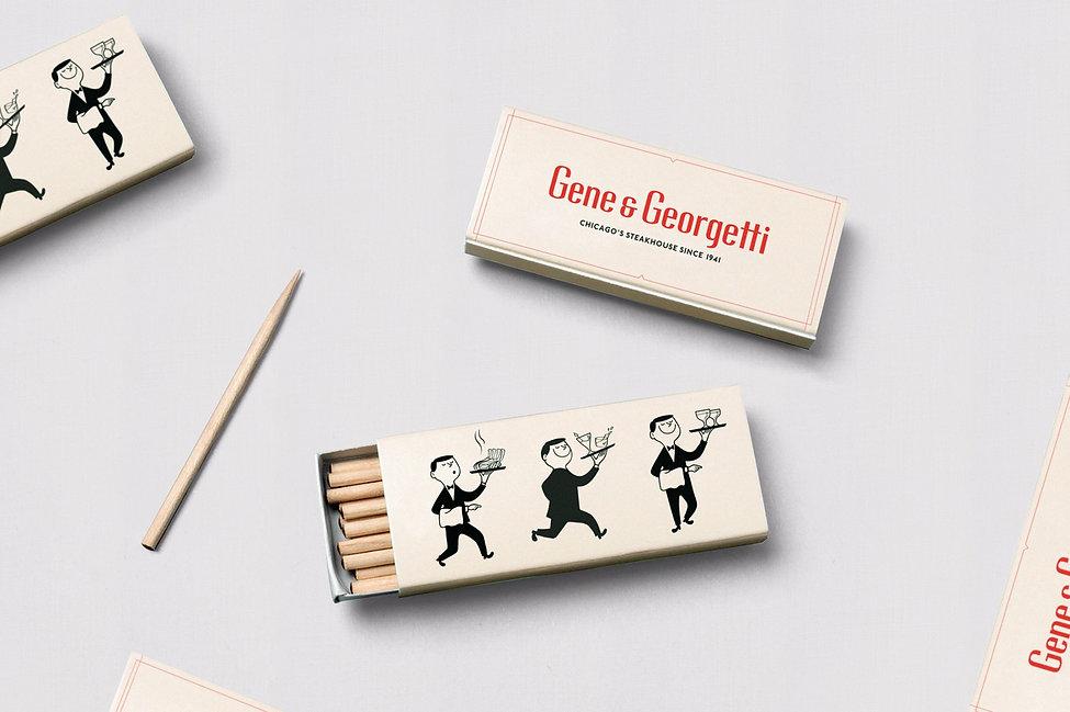 gene&georgetti rebrand