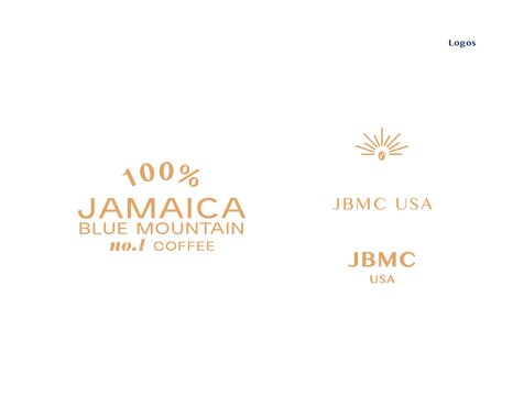 Jean Pyo Jamaica blue mountain coffee logos