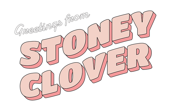 stoney clover logo designed at paperwhite studio by jean pyo