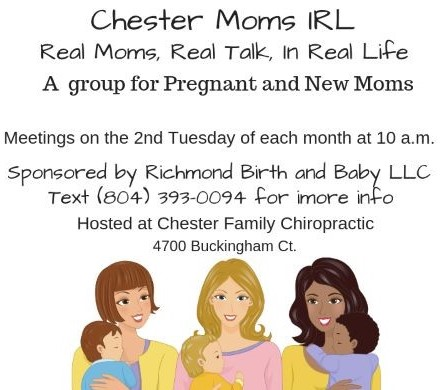 Doulas Lead a New mom group in Chester, Va