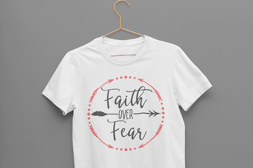 Faith over Fear Ladies Shirt