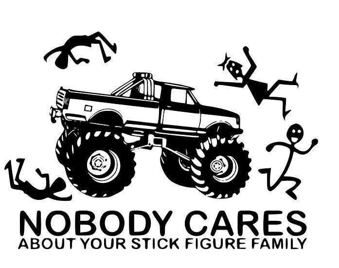 Truck Vinyl Sticker