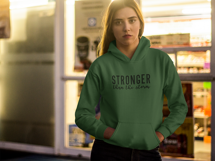 Stronger Then The Storm Hoodie