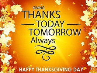 Blessing of Thanks Giving