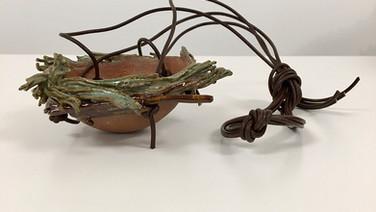 'Nest Pot Hanging Planter' ornament