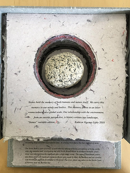 Stone Book, variable edition 3 of 5, 2018