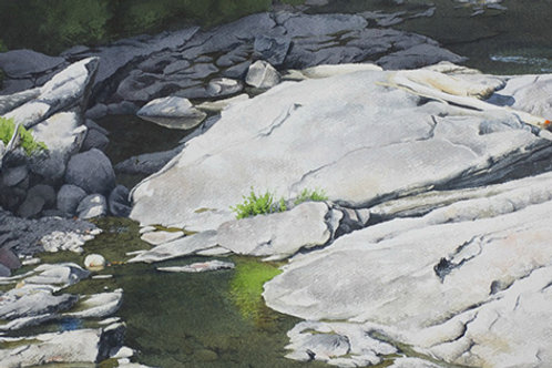 Online: Painting the Many Moods and Facets of Water in the Watercolor Medium