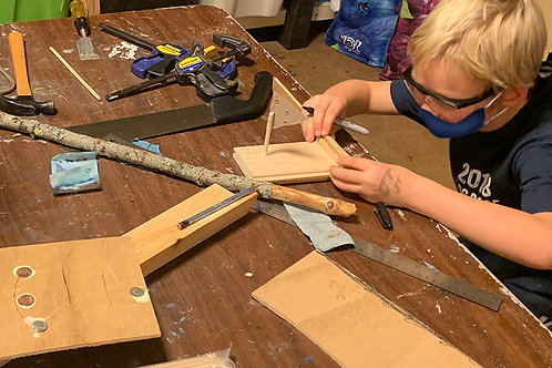 Woodworking: Game Making (Call 802-253-8358 for availability.)