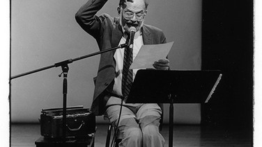 Allen Ginsburg, Benefit Performance for PS122, NYC,