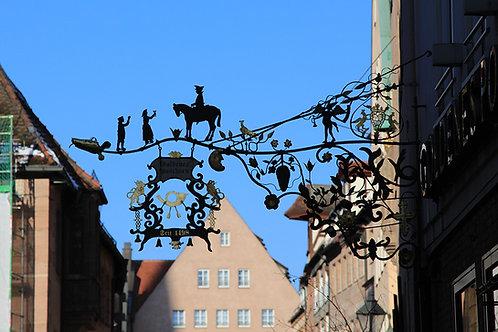 Golden Post Horn, 1498, Nürnberg, Germany