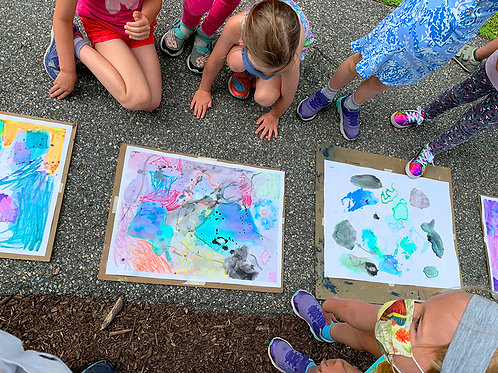 Paint and Draw Outdoors!