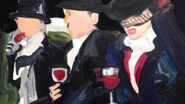 Untitled (Wine Drinkers)