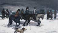 Winter Hunt Scene