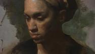 Woman in Head Scarf
