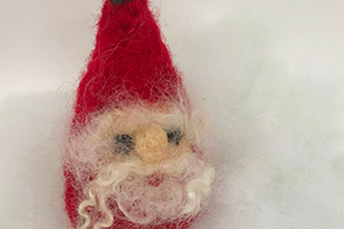 In-Person: Holiday Ornaments in Needle Felt: What do you Gnome about Gnomes?