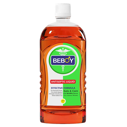 Beboy Antiseptic Disinfectant liquid for First aid, Cloth Wash (500ml)