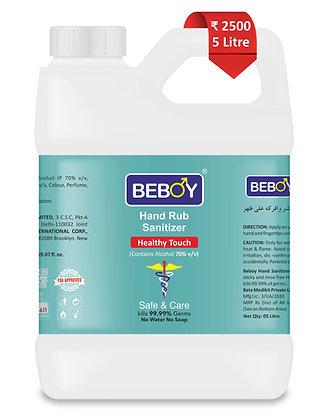 Beboy Hand Rub Sanitizer - 5000ml