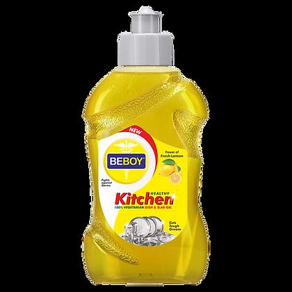Beboy Dishwash Liquid Gel Lemon, With Lemon Fragrance for all Utensils 500ml