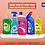 Thumbnail: Beboy Dishwash Liquid Gel Lime, With Lime Fragrance for all Utensils 500ml