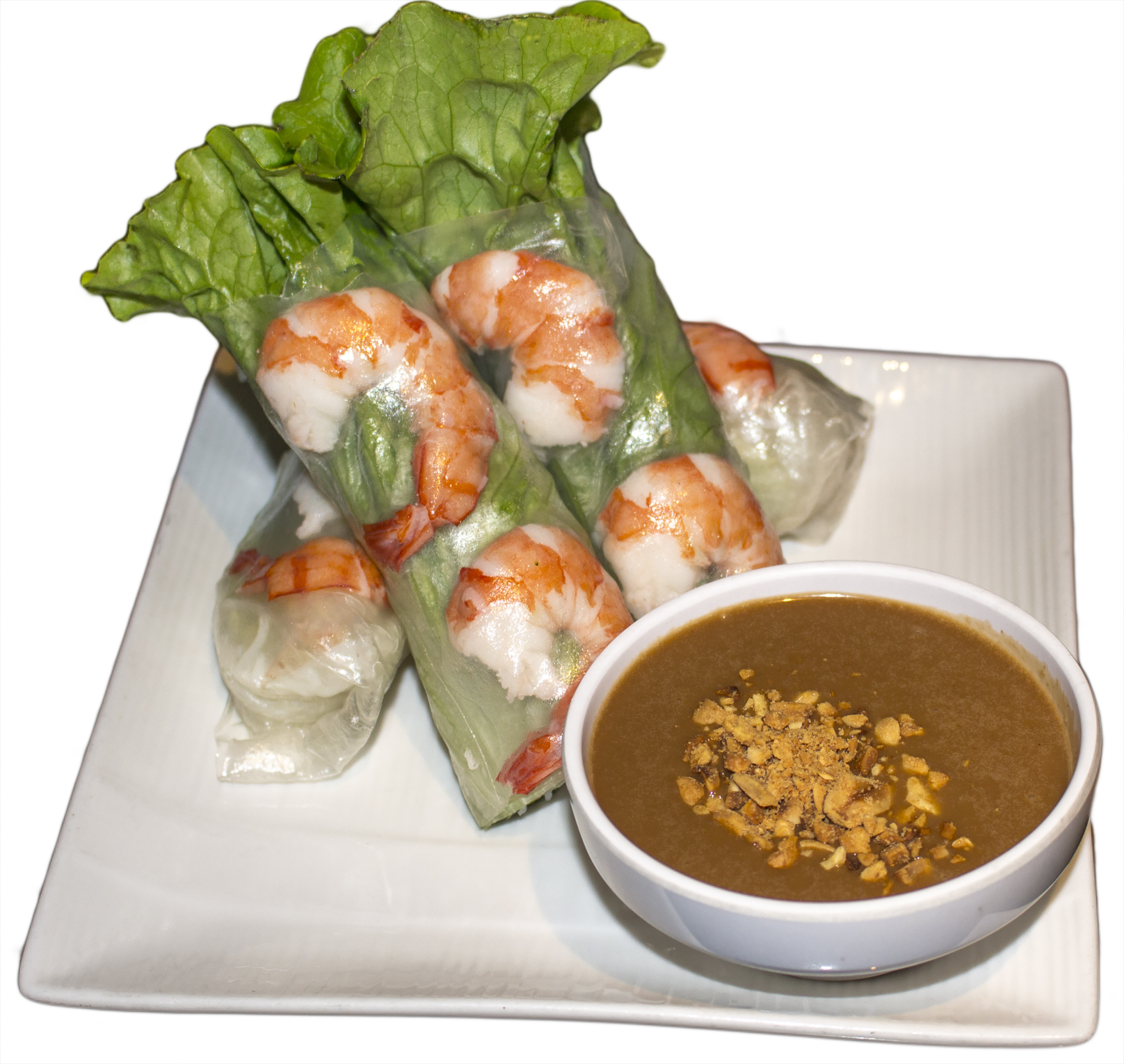 Shrimp roll banner