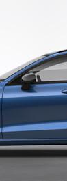 Black Rear View Mirror Caps