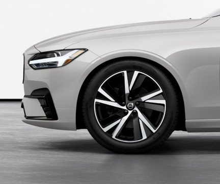 """19"""" 5-Spoke Diamond Cut alloy wheels"""