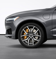"""22"""" 5-Y Spoke Black Polished Forged alloy wheel"""