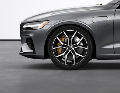 """19"""" 5-Y Spoke Black Polished Forged alloy wheels"""