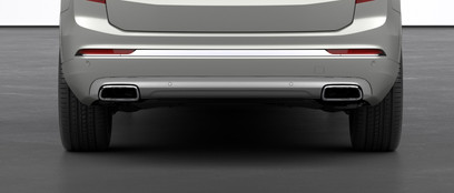 Dual Integrated Tail Pipes