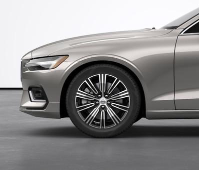 """18"""" 10-Multi Spoke Black Diamond-Cut Alloy Wheels"""