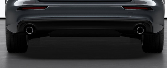 Rounded Tailpipes