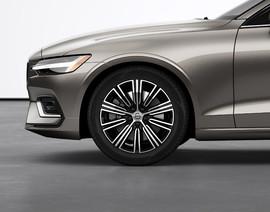 """18"""" 10-Multi Spoke Black Diamond Cut alloy wheels"""