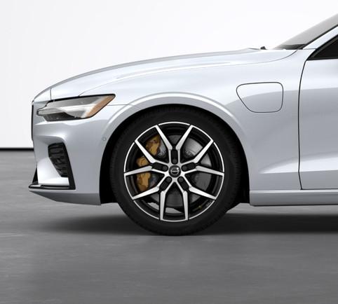 """19"""" Y-Spoke Black Polished Forged wheels"""