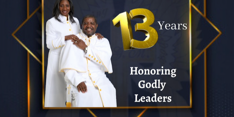 Celebrating Pastor's Anniversary: 13 Years of Ministry